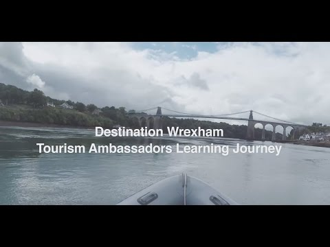 Destination Wrexham Tourism Ambassadors Learning Journey Conwy