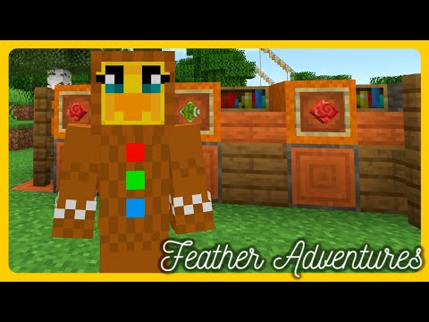 Feather Adventures : GINGERBREAD DUCK - {287}