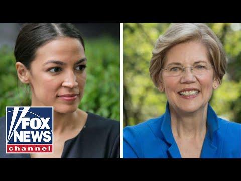 Warren Backs An Ocasio-Cortez Plan As 2020 Battle Ramps Up