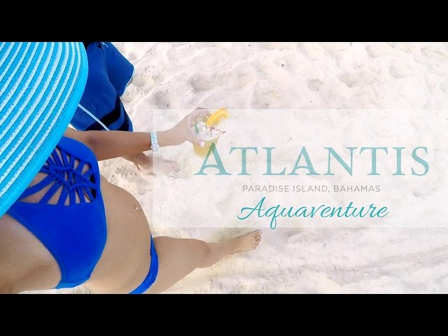 ATLANTIS AQUAVENTURE!   CRUISE VLOG #5