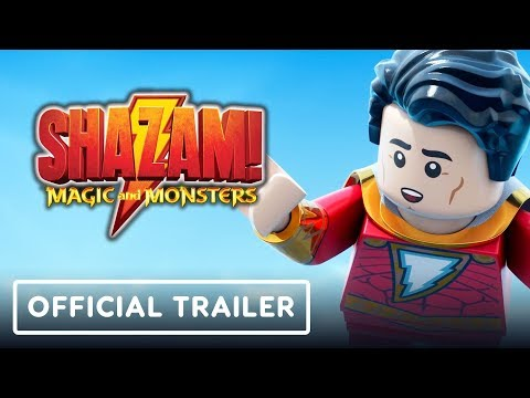 LEGO DC: Shazam! Magic and Monsters - Official Trailer (Sean Astin, Nolan North)