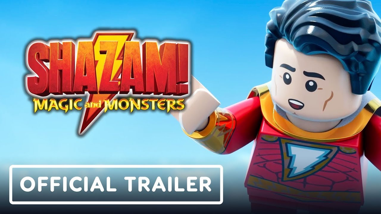 LEGO DC: ¡Shazam! Magic and Monsters - Tráiler oficial (Sean Astin, Nolan North) + vídeo