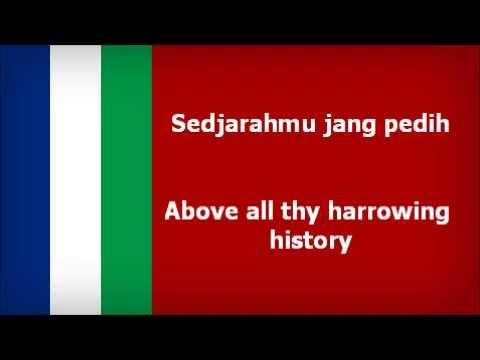 South Maluku Separatist Anthem - Maluku Tanah Airku [With English Subtitle]