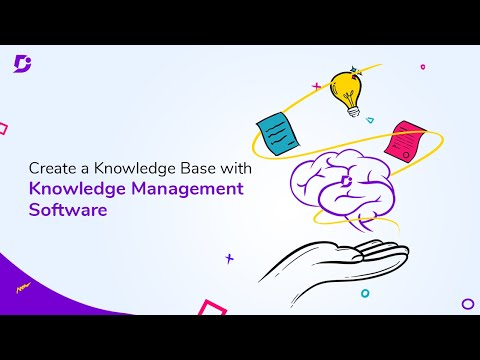 How to create a knowledge base with Knowledge Management tool - Document360