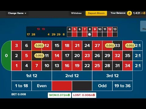 Winning At Bitcoin Roulette