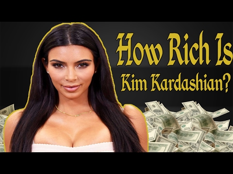 How Rich Is Kim Kardashian? Net Worth 2017
