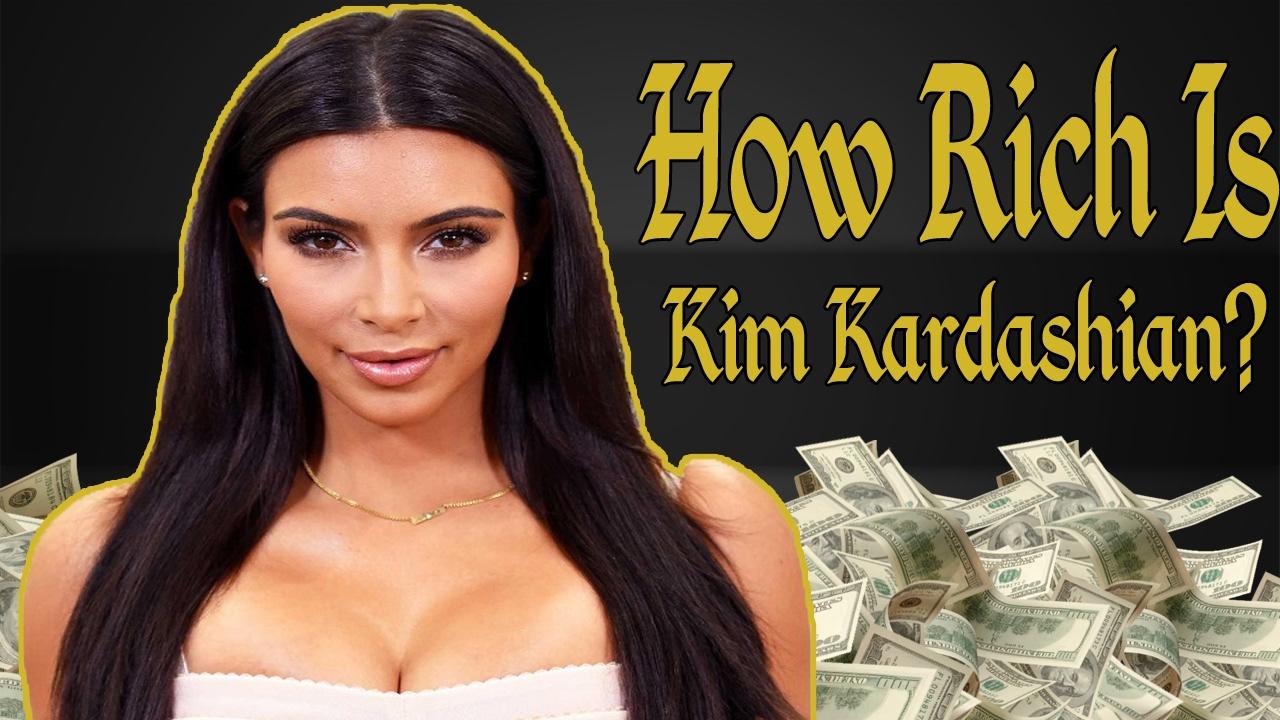 How Rich Is Kim Kardashian? Net Worth 2017 - YouTube Kim Kardashian Net Worth 2017