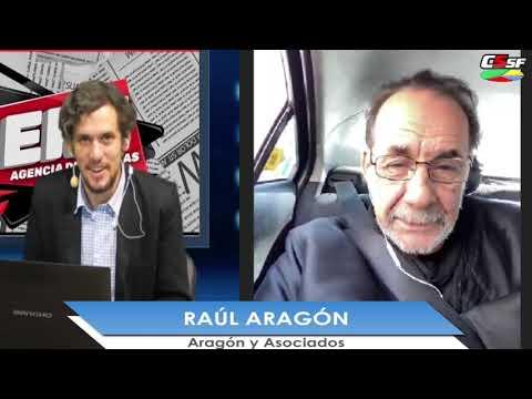 Raúl Aragón: En la largada
