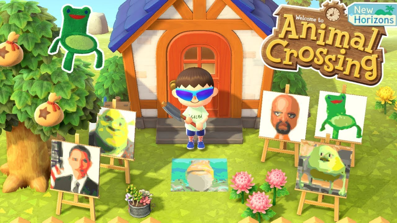 How To Import Memes Into Animal Crossing New Horizons Youtube