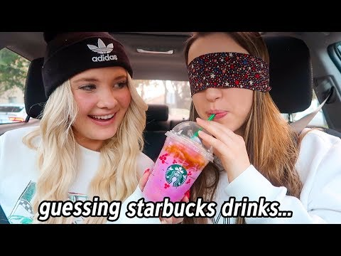 Guessing Starbucks Drinks For A Week... (+ Giveaway!)