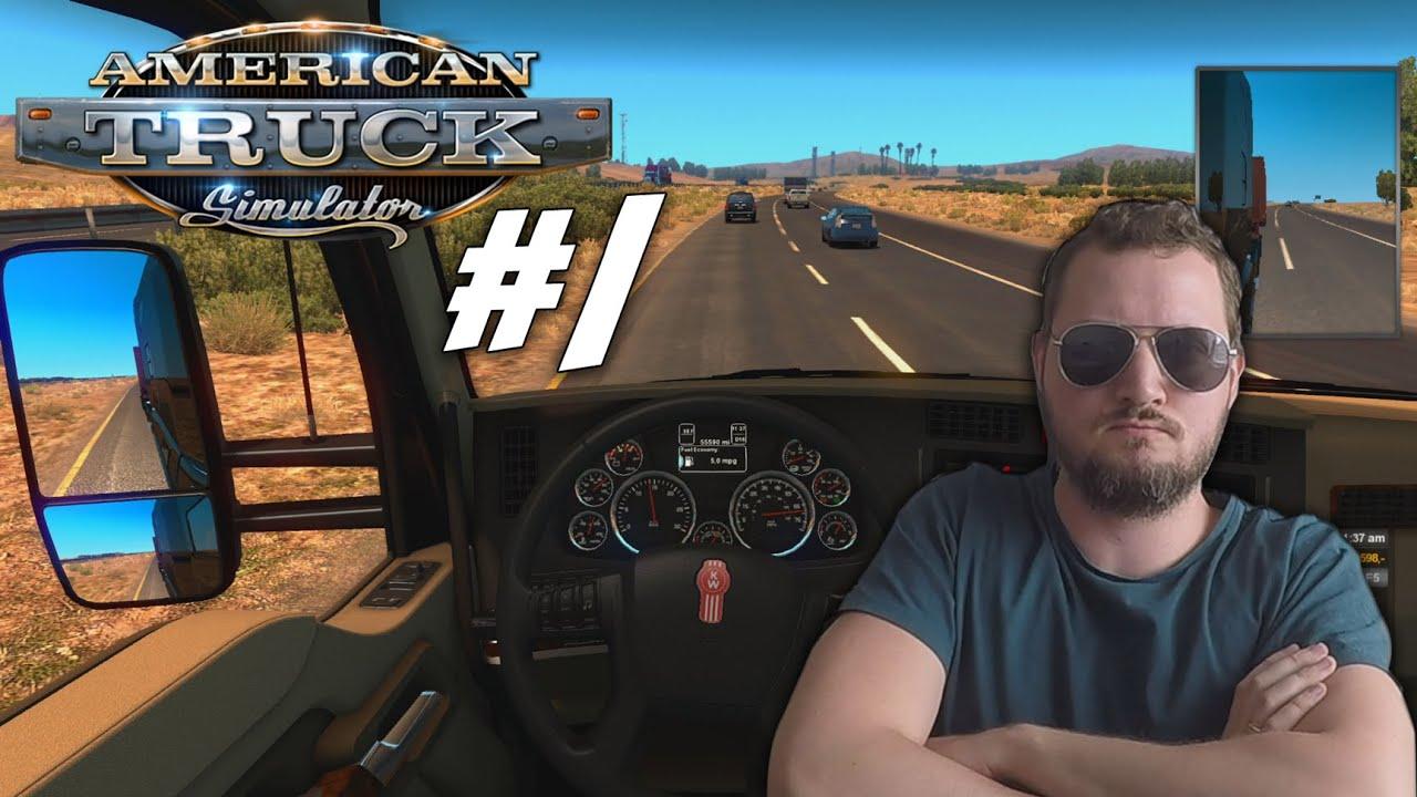 DET HER ER LIVET! - American Truck Simulator dansk Ep 1