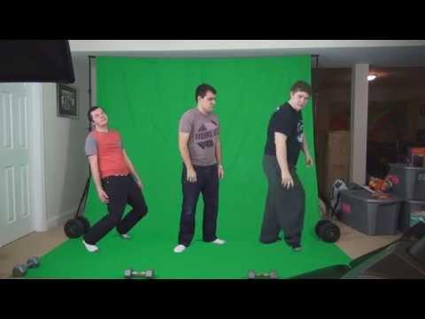 Laszlo - Supernova (Green Screen Dance Party)