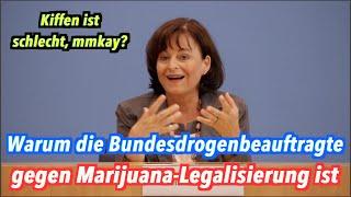 Drogenbeauftragte Mortler findet Marijuana-Legalisierung immer noch doof, mmmkay?