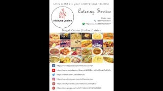 Catering Service by Mithun's Cuisine | Select Catering Service