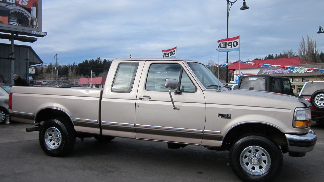 1992 FORD F150 XLT LARIAT SUPERCAB 4X4 SOLD!!!  YouTube