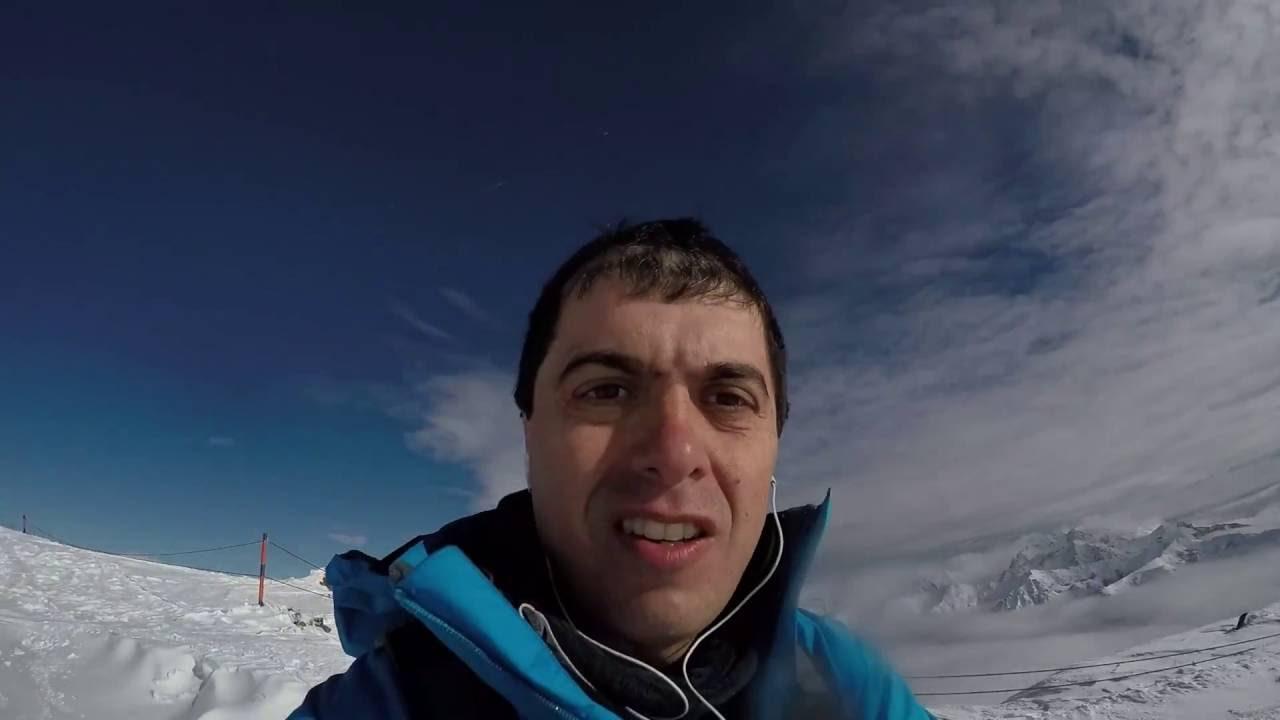 Bariloche in snowboard (nubes 2016)