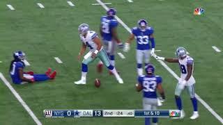 Week 1 - Dak Prescott Highlights vs New York Giants.