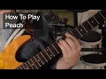 watch he video of 'Peach' Chords - Prince Guitar Lesson