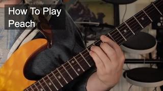 'Peach' Chords - Prince Guitar Lesson