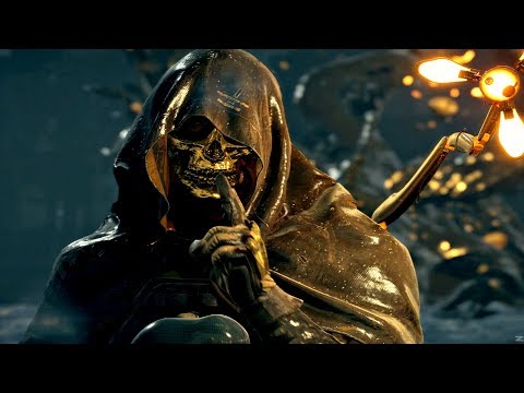 Death Stranding - Higgs BT Boss Fight #1 (PS4 Pro)