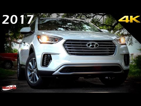 2017 Hyundai Santa Fe SE - Ultimate In-Depth Look in 4K
