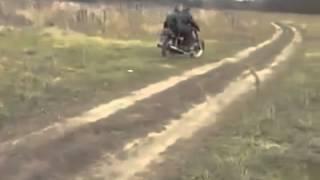 Парни из села купили себе мотоцикл