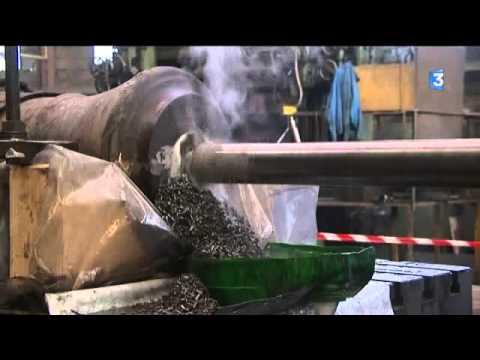 La fabrication des canons de l'Hermione en Charente