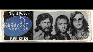 Lagu Karaoke Bee Gees - Night Fever