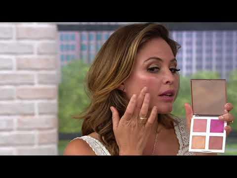 Josie Maran Vibrancy Argan Fresh Face Paint Palette on QVC