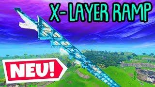 Neuer X-Layer BAU TRICK! | (einfach & stark) | Fortnite Battle Royale