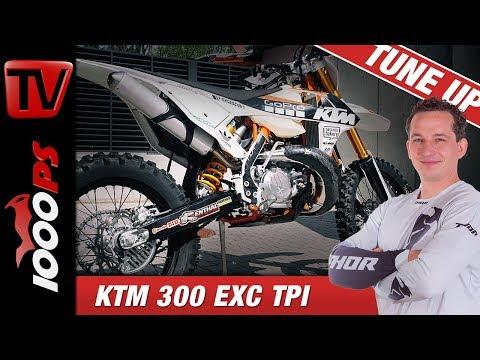 KTM 300 EXC TPI Tune Up - Arlo scheut keine Kosten!