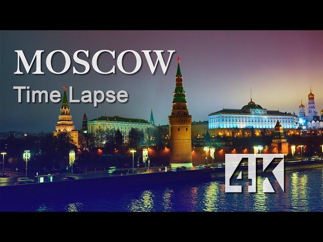 Moscow Time Lapse 4K by Syrp Genie Mini II (2019)