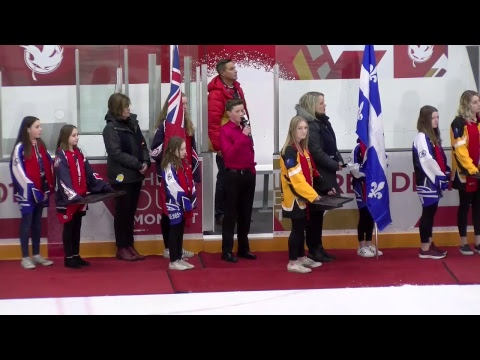 2019 CWG - Ringette - Gold Medal Game - ON vs QC