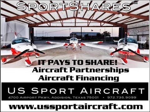 Aircraft financing, aircraft partnerships, fractional aircraft ownership, SportShare program.