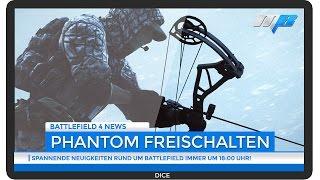 Battlefield 4 Phantom Bogen Freischaltung - So schaltet man ihn frei (BF4 Gameplay/News)