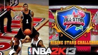 NBA 2K13 MyCareer All-Star Weekend!: Rising Stars Challenge #NBA2K13