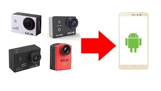 How to save photos & videos from SJCAM Camera to Android Through Wifi