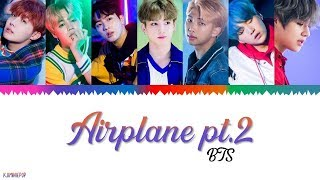 Bts  방탄소년단  - Airplane Pt.2  Color Coded Lyrics