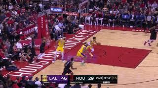 3rd Quarter, One Box Video: Houston Rockets vs. Los Angeles Lakers
