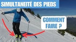 Ski - simultanéité des pieds et déclenchement du virage au Labo du skieur