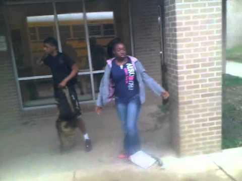 black girls going crazy on school bus