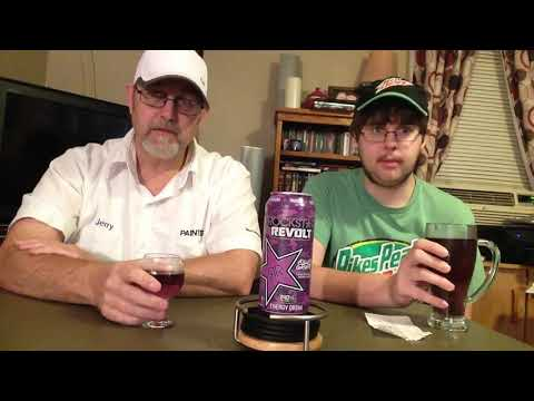 The Beer Review Guy # 589 Rock Star Revolt Killer Grape Energy Drink