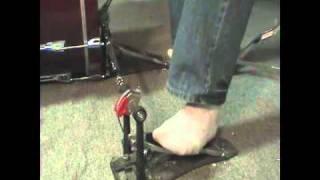 Heel Toe Double Kick Bass Drum Peda...