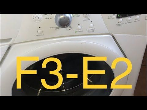 ✨ DUET WASHER F3 - E2 ERROR - QUICK FIX ✨