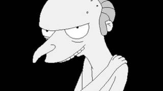 Mr. Burns - Smithers turns me on