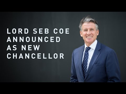 Lord Coe unveiled as Chancellor