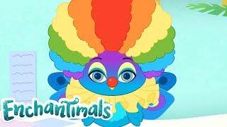 Enchantimals Nederlands | WILDE WISPELTURIGE VERHALEN: MODE FLAP | Cartoons voor kinderen