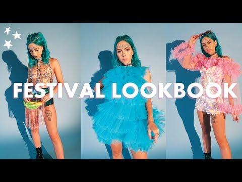 MUSIC FESTIVAL LOOKBOOK | Sparkles & Sequins