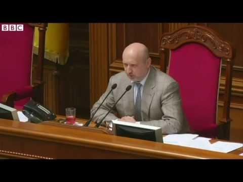 Ukrainian president announces helicopter shooting