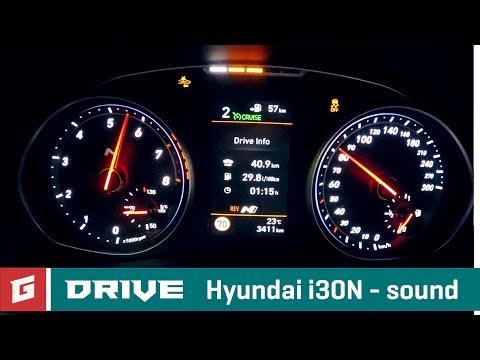 Hyundai i30N sound first drive no comment GARAZ.TV